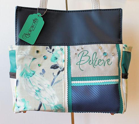 Believe Custom Handbag by Noteworthy Blues.jpg