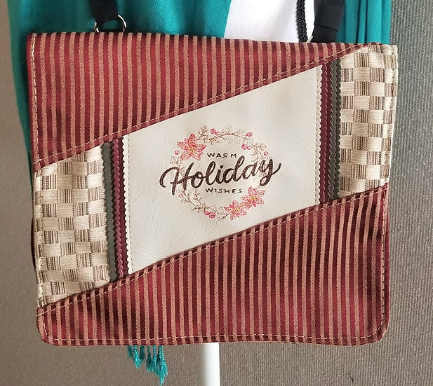 Warm Holiday Wishes Messenger Bag