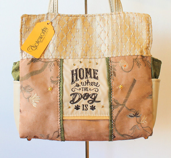 Home Is Where The Dog Is Handbag