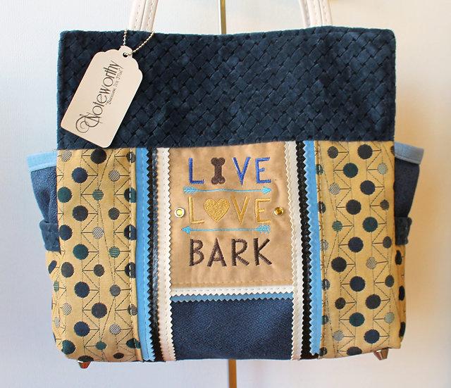 Live Love Bark Handbag