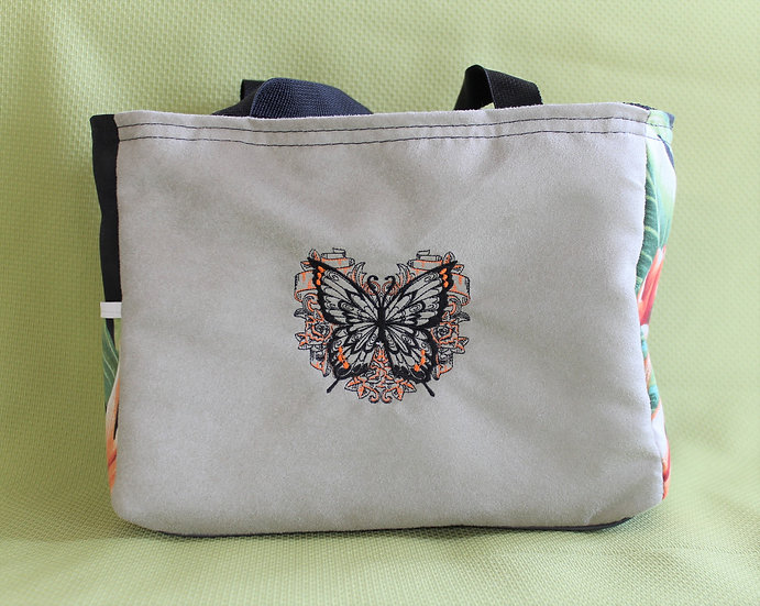 Graceful Butterfly Tote