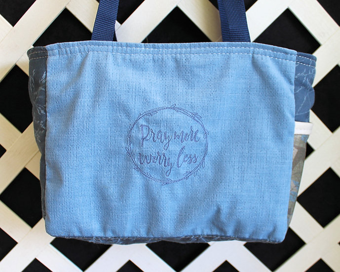 Pray More, Worry Less Tote