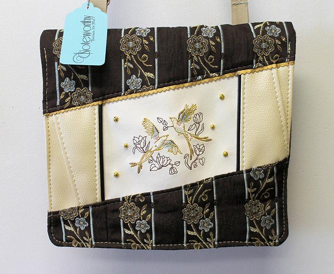 Victorian Bird Messenger Bag