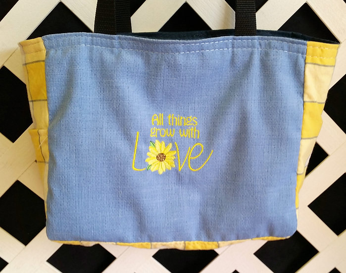 All Things Grow With Love Tote