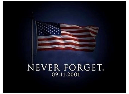 Never Forget. 9/11