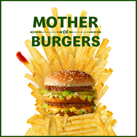 Mother of burgers