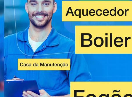Conserto - Manutenção de aquecedor a gás - Rio de Janeiro - RJ