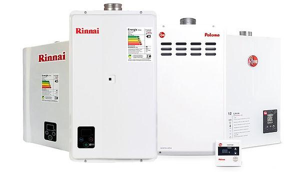 instalação - manutenção de aquecedor a gás - em - niterói