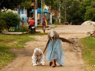 No PA, crianças se fantasiam de animais da Amazônia em forma de homenagem neste carnaval