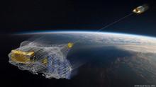 Lixo espacial preocupa cientistas