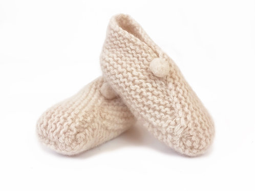 100% CASHMERE BOOTIES
