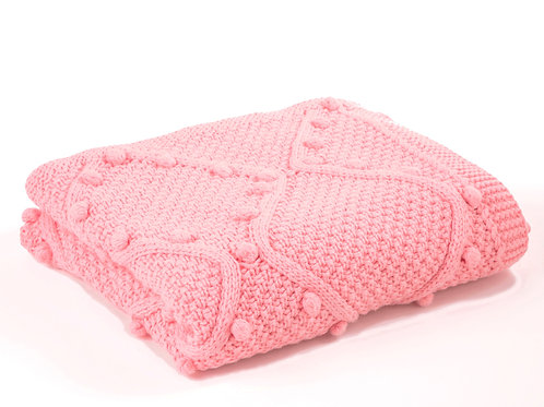 ORGANIC COTTON CABLE BLANKET