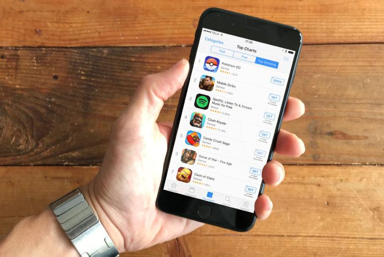 app store, mobile games, freemium