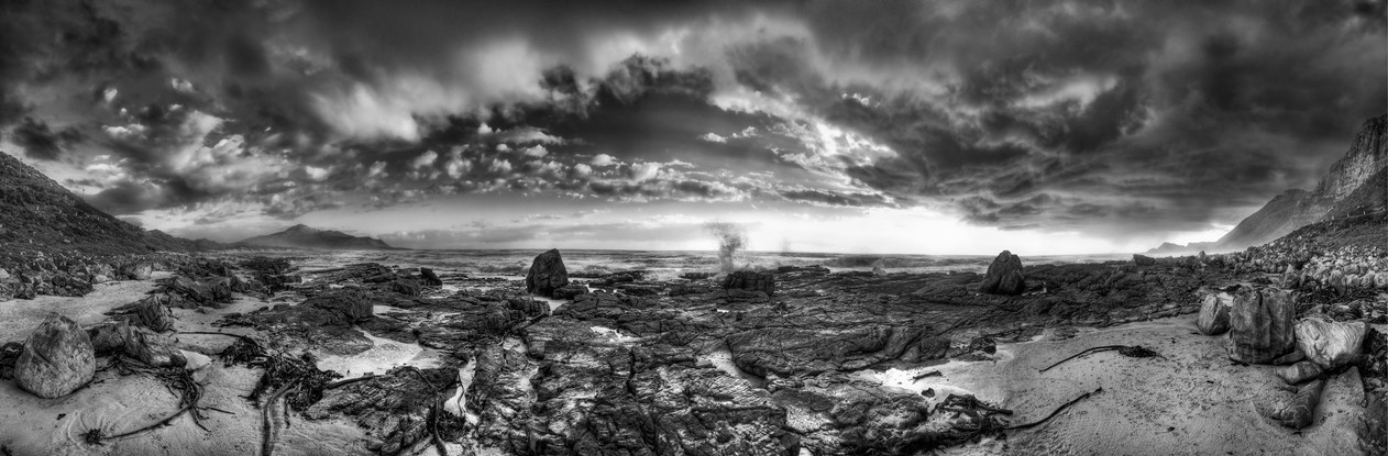Panorama images from the Karoo & Cape Town SA