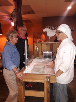 Pasta at la Mesa