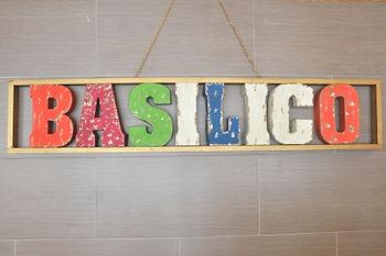 Basilico signage