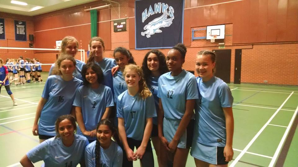 Wycombe High Volleyball Team 2016