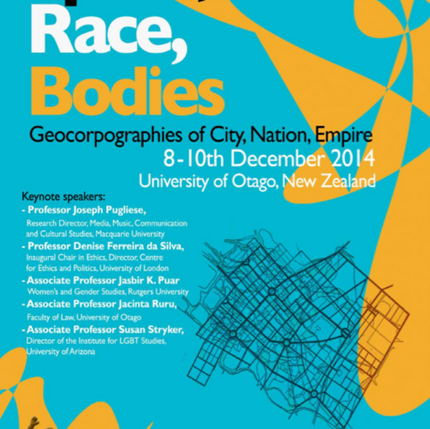 Space, race, bodies: Geocorpographies of city, nation, empire