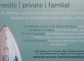 domestic   private   familial: A one-day symposium