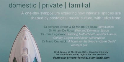 domestic | private | familial: A one-day symposium