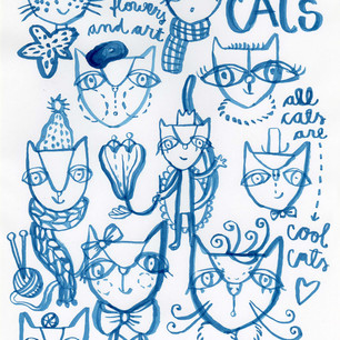 Cool Cats - Cat Personalities