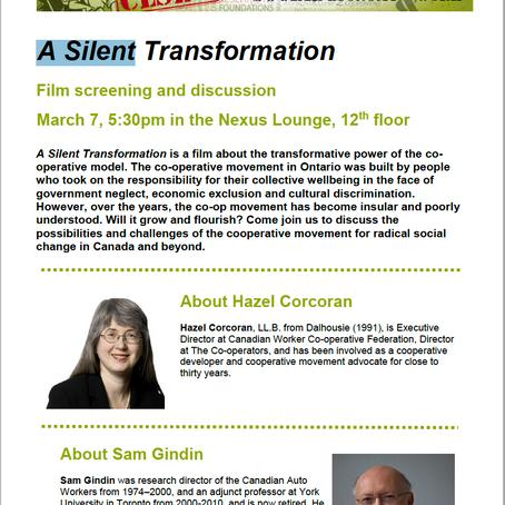 Film: A Silent Transformation