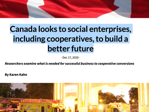 Fifty by Fifty interviews Co-opConvert Project's Marcelo Vieta on conversions in Canada