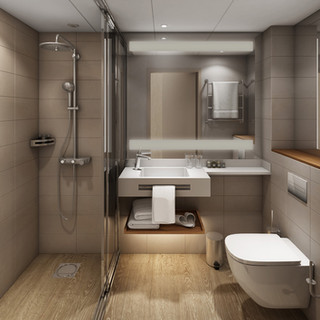 Marriott badrum.