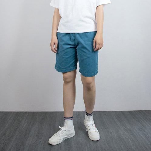 3色|燈芯絨抽繩膝上休閒褲