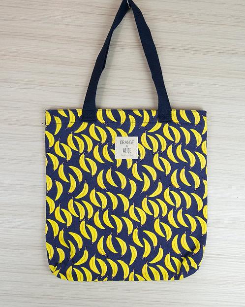 都是香蕉帆布袋 書袋 環保袋