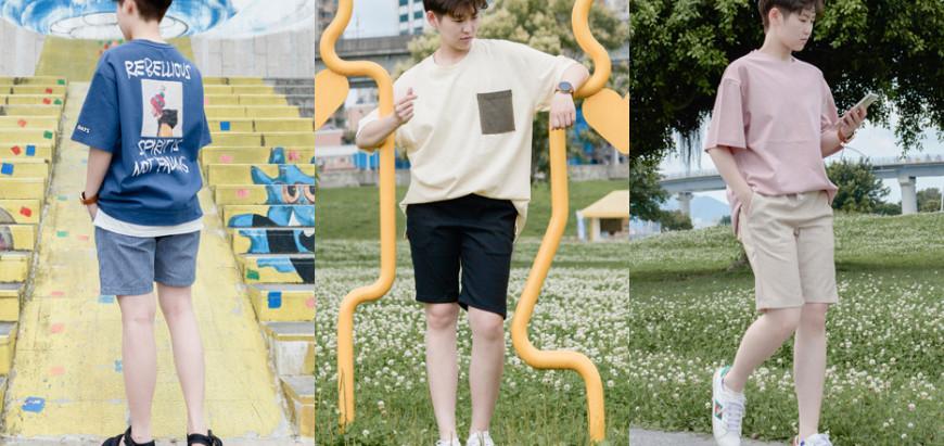 韓系清爽春夏風格~4種男生必學的簡單穿搭