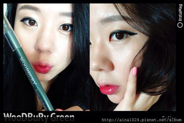 MakeUp ♡ Beauty Secret:性感埃及綠眼影 眼線 美妝