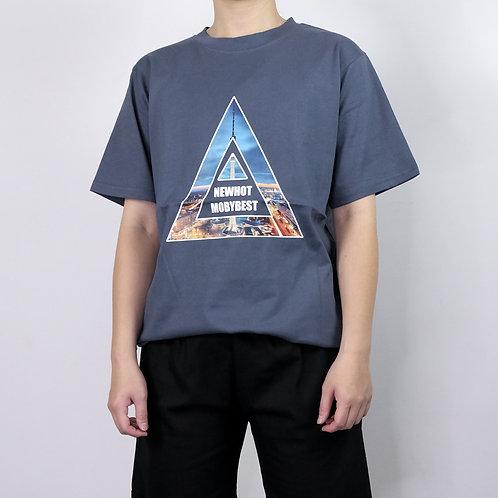 3色|三角短袖T