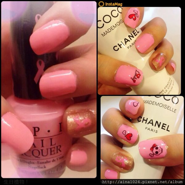 Nail|Nail DIY:Pink-ing of you