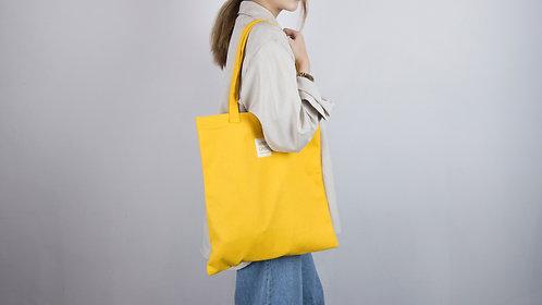 3色|純色帆布袋 書袋 環保袋