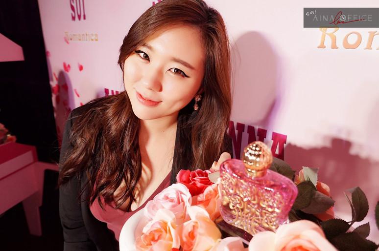 Beauty ♡  ANNA SUI 香水新品上市發表會 ROMANTICA(安娜花園淡香水)