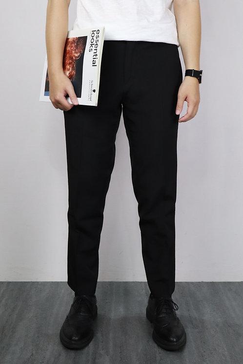 2色|8分直筒西裝褲