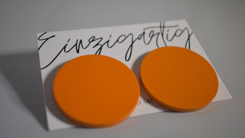 """EINZIGARTIG. Ohrstecker """"Orange"""""""