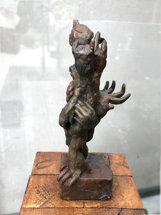 Handen - brons