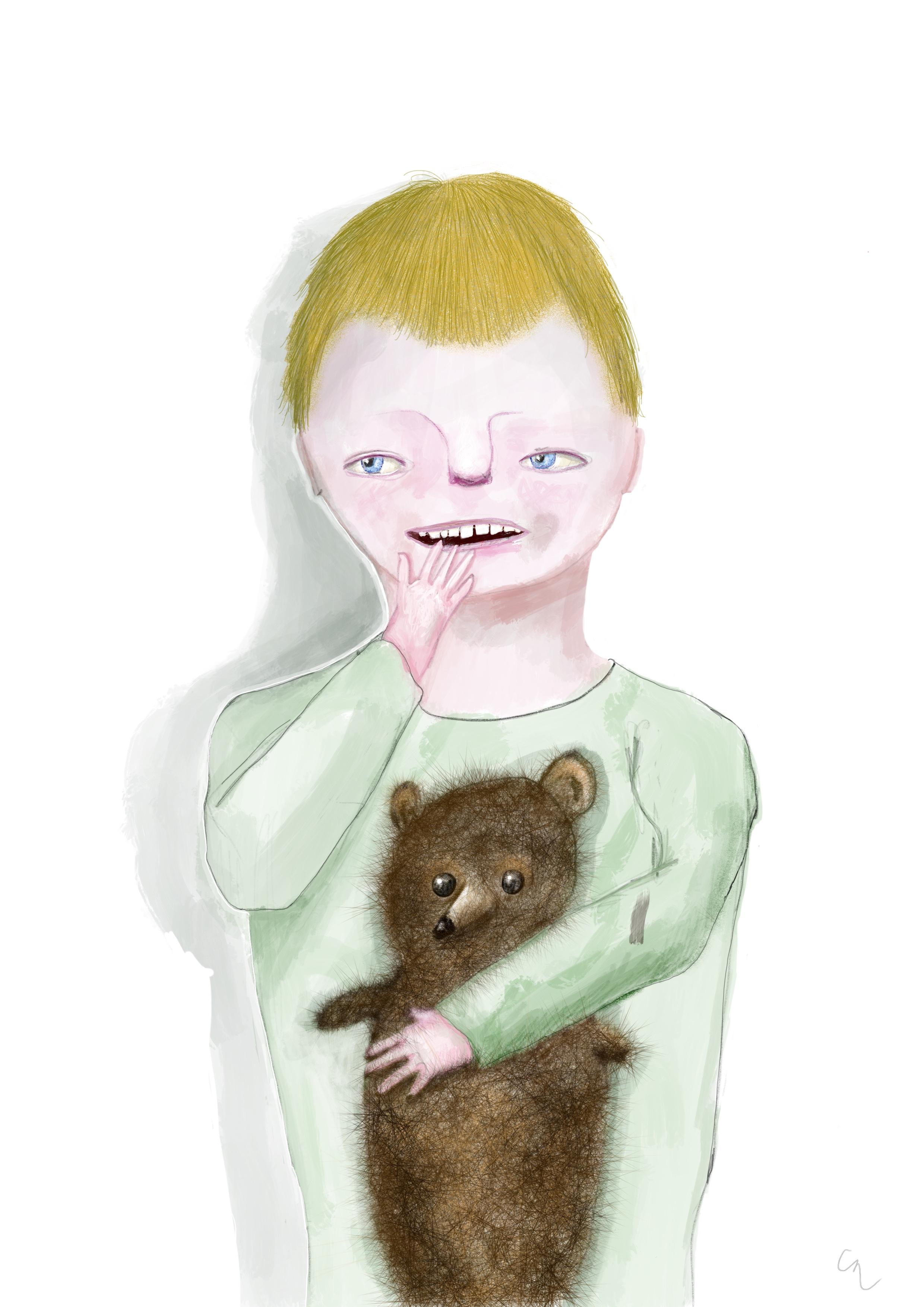 Boy and his bear