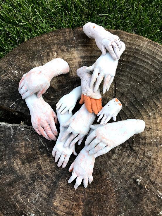 Hands ceramics - Handen keramiek