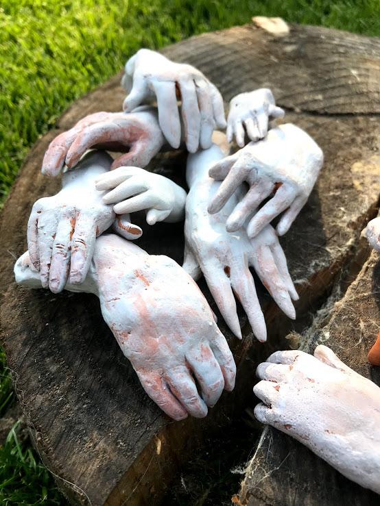 Handen keramiek - Hands ceramics