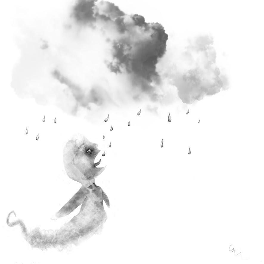 Drinking rain