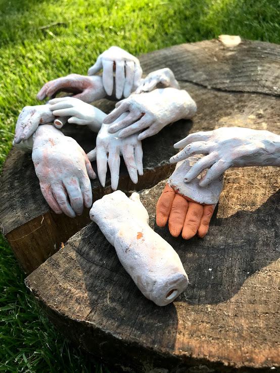 Hands ceramics, handjes keramiek