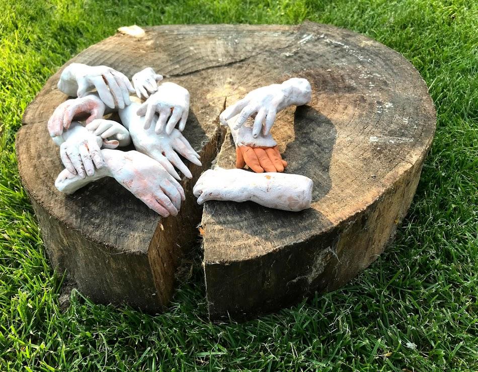 Handjes keramiek - Hands ceramics