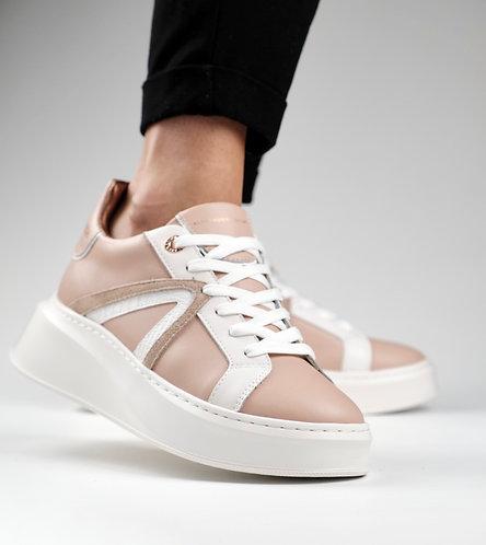 Women Sneakers Carnaby - Nude