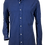 Thumbnail: Blue Cobalt Pique Cotton Shirt