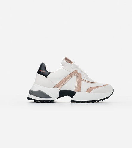 Women Sneakers Marble - White Copper