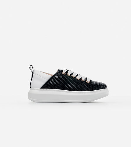 Women Sneakers Wembley - White - Nude/Gold/Black