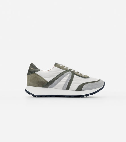 Men Sneakers Liverpool - White-Blue/Grey/Military